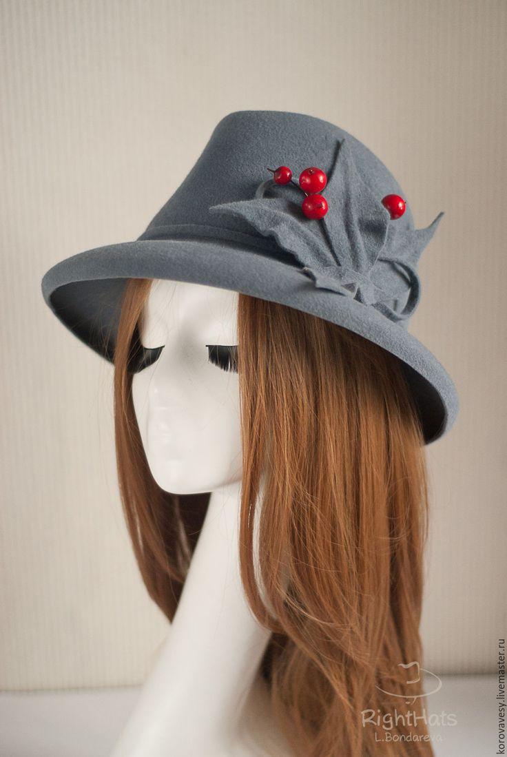 Купить федора ЛЮБИМОЕ РОЖДЕСТВО - шляпа, федора, женская шляпа, велюровая шляпа, любимое рождество