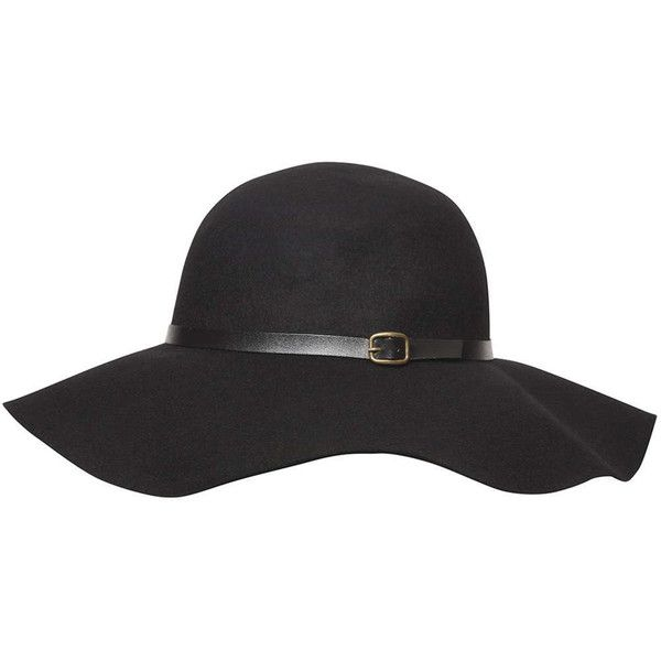 Dorothy Perkins Black Felt Floppy Hat (995 THB) ❤ liked on Polyvore featuring accessories, hats, black, floppy hat, dorothy perkins, felt floppy hat and felt hat