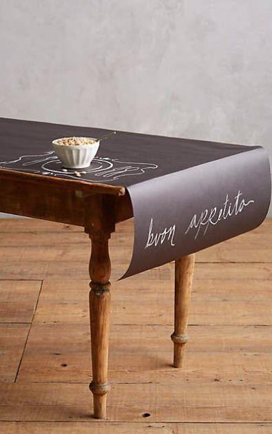 Chalkboard Table Runner #anthrofave