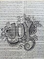Dictionary Art by Nola
