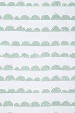 Ferm Living Half Moon -tapetti Mintunvihreä - Kuviolliset | Ellos Mobile