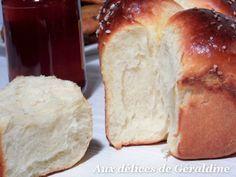 Aux délices de Géraldine: Brioche au fromage blanc sans beurre et sans huile