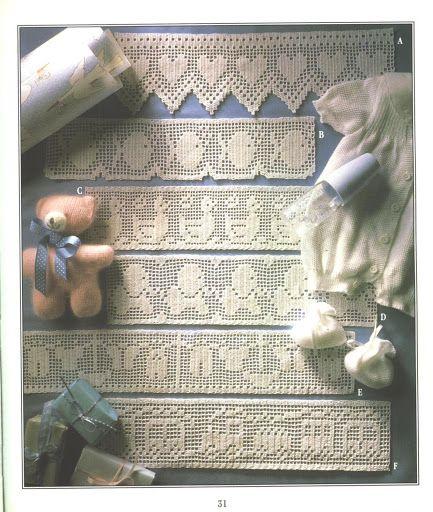 The Filet Crochet Book - inevavae - Álbumes web de Picasa virðist vera öll bókin