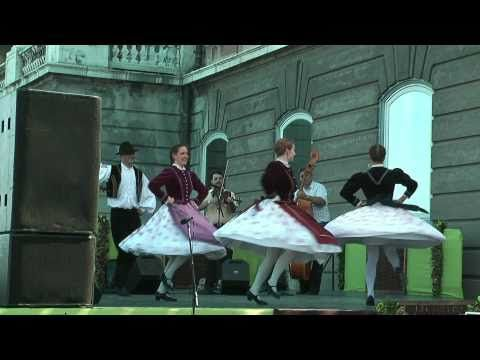 Hungarian Folk Dancing in Budapest, Hungary - YouTube
