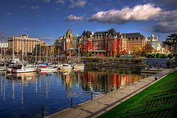 Victoria, B.C. Where I completed my first intern-ship. 2009