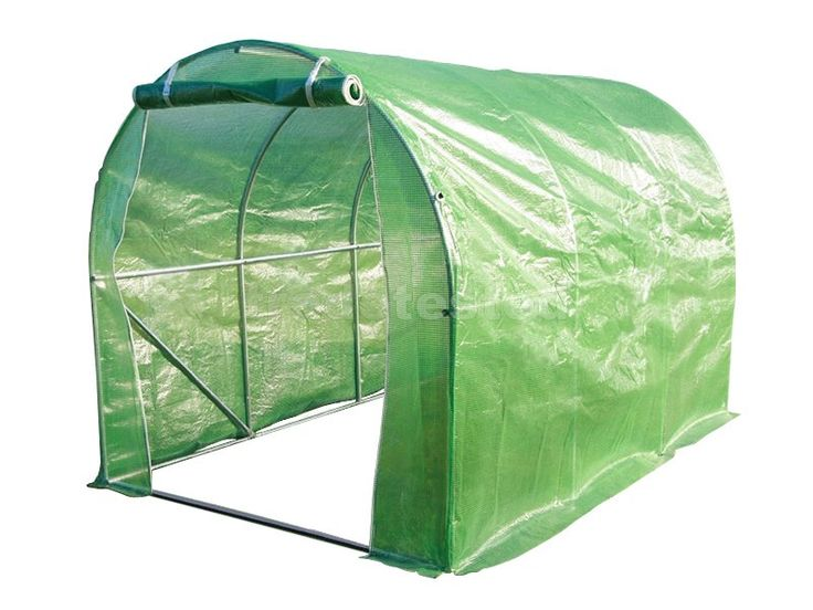 Tunnel House Greenhouse 2m x 3m - Tunnel Houses - Greenhouses - Browse Trade Tested
