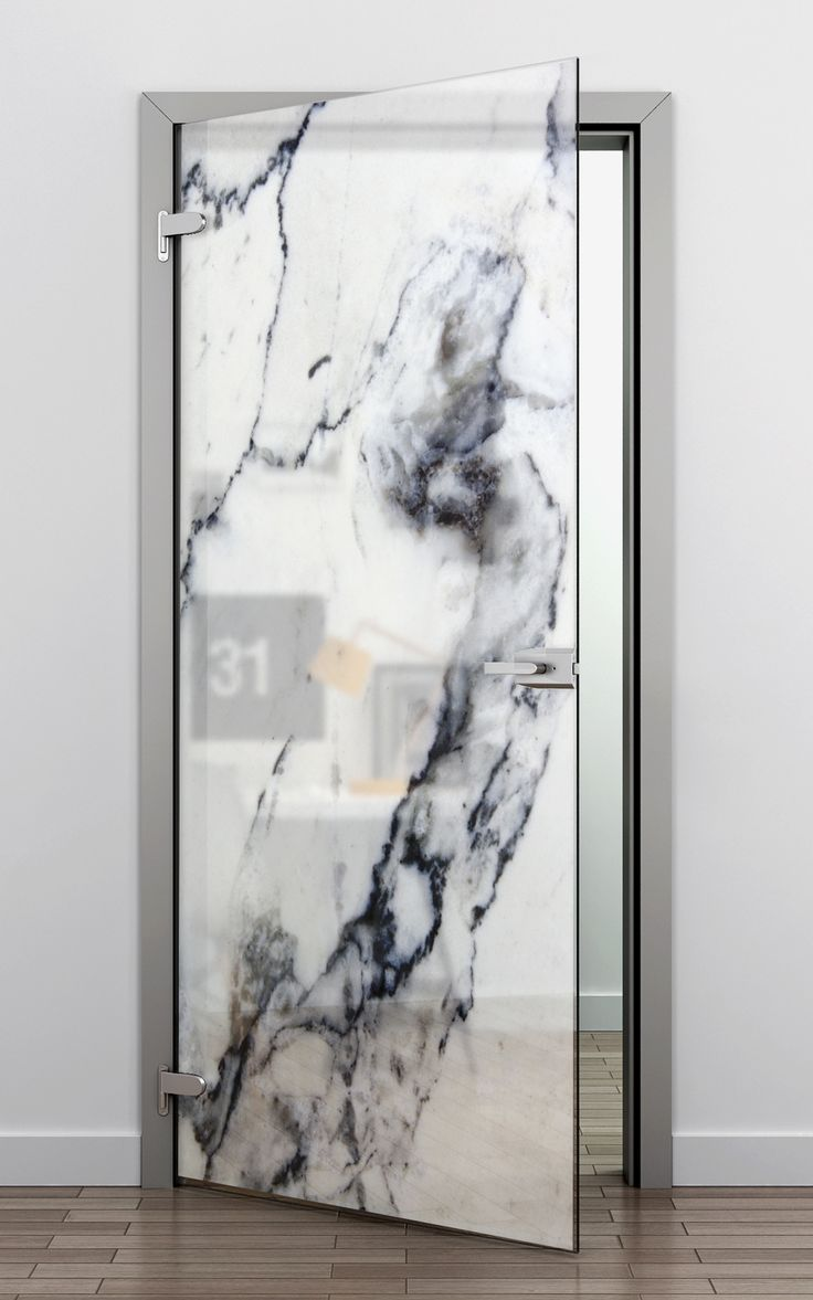 Frosted glass door refrigerator - Glass Printing Offers Great Opportunities In Modern Architecture And Design Frosted Glass Doormarble Printglass