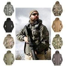 jaqueta masculina tático militar impermeável -pronta entrega                                                                                                                                                                                 Más