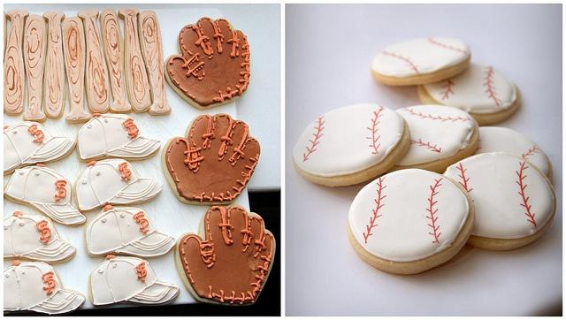 san francisco giants cookies, baseball cookies