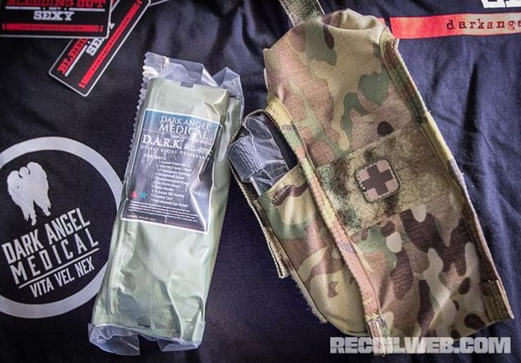 @recoilmagazine taking a look at the latest and greatest from @darkangelmedical Check out these awesome life saving kits with products from @northamericanrescue and the pockets made by yours truly right here in the USA. #FirstSpear #MadeInUSA #JustTheTip #BuiltForTheX #OEM #manufacturing  by firstspear
