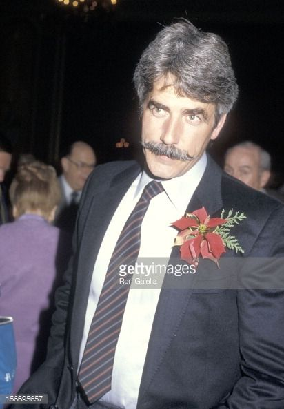 Actor Sam Elliott attends the Hollywood Women's Press Club's 45th Annual Golden Apple Awards on December 8 1985 at the Beverly Wilshire Hotel in...