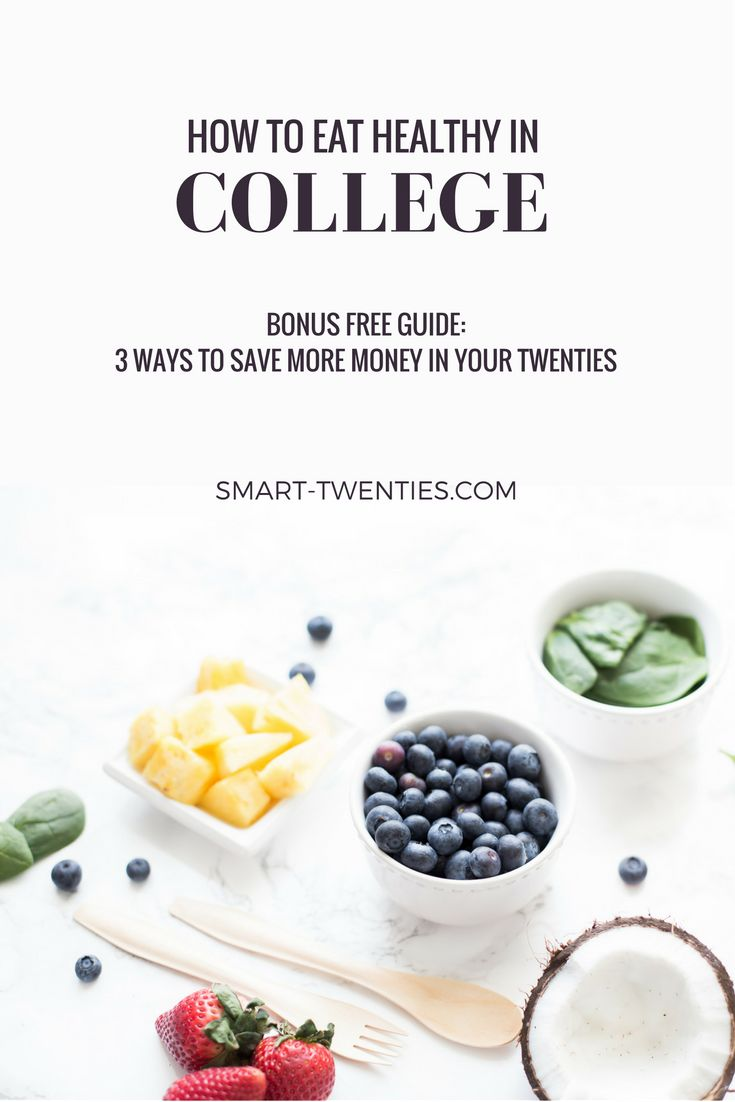 How To Eat Healthy On A Student Budget