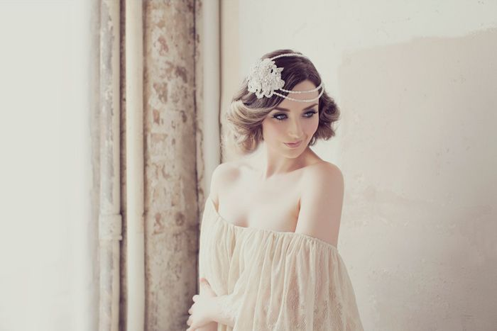 New Couture Bridal Headpieces: Made With Love by Viktoria Novak