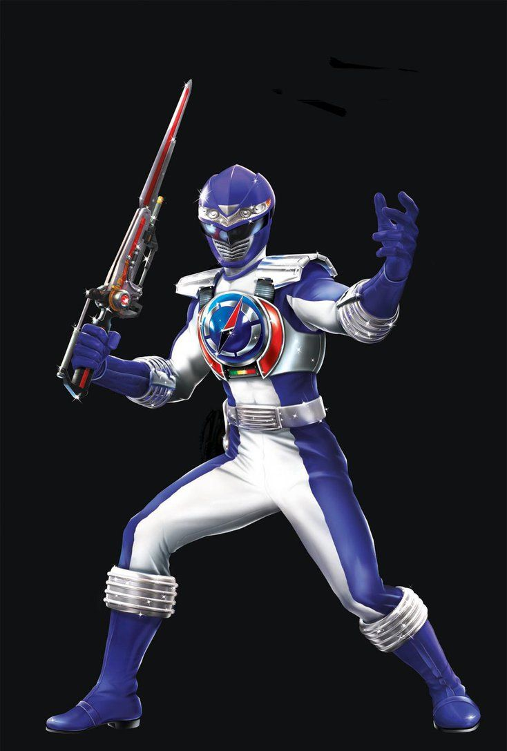 POWER RANGERS OPERATION OVERDRIVE - BLUE RANGER by DXPRO