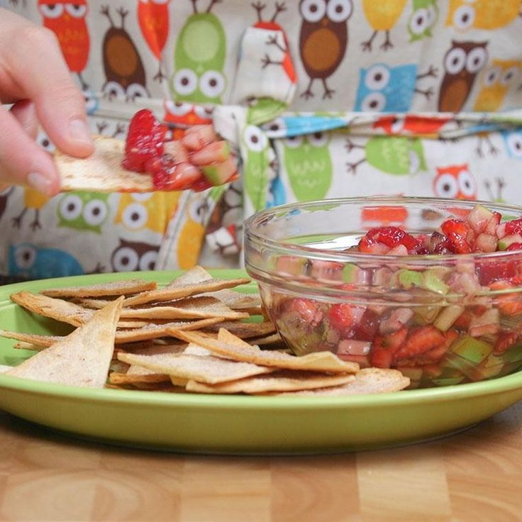 Fruit Salsa with Cinnamon Chips Will be Your New Favorite Snack - Shared