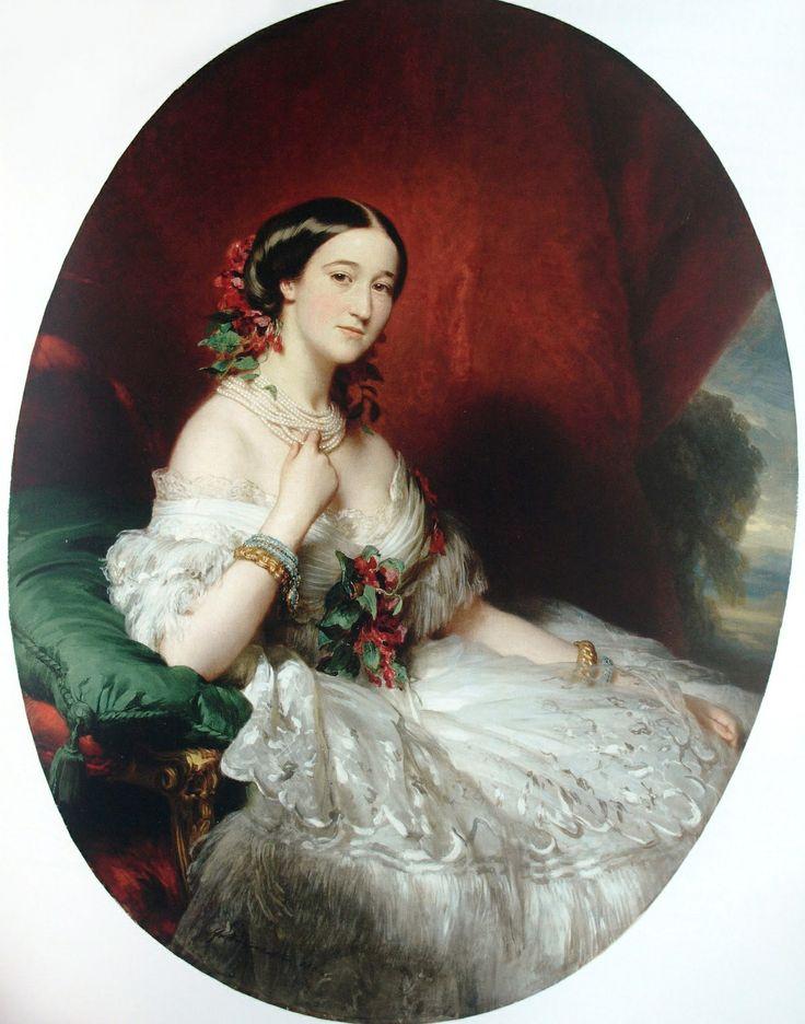 Duquesa Francisca de Alba (1825-1860), née Condessa de Montijo by Franz Xaver Winterhalter