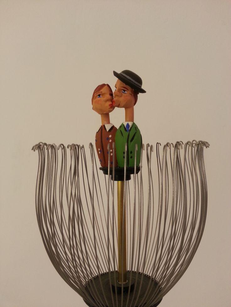"detail from ""kiss"" sculpture in motion, 2012 #sculpture #contemporary #serverdemirtas #serverdemirtaş"