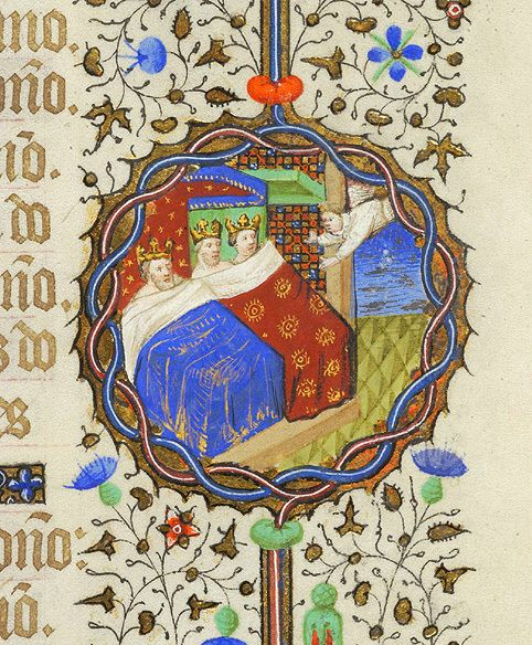 23 magos, Libro de Horas M.359 (París, h.1430), Biblioteca Morgan, Nueva York