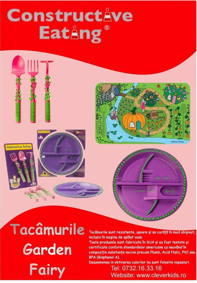 Poster Constructive Eating - Tacamurile Garden Fairy | in-time.ro