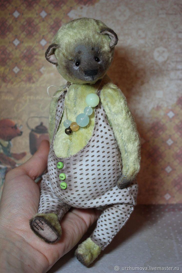 Мишки Тедди ручной работы. Ярмарка Мастеров - ручная работа. Купить Лимонад 2. Handmade. Медведь, авторская работа