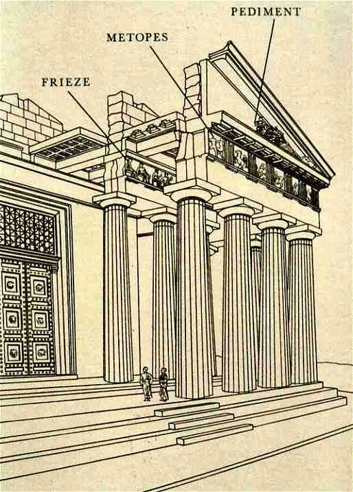 Greek Architecture Drawing 55 best ancient greek architecture images on pinterest | ancient