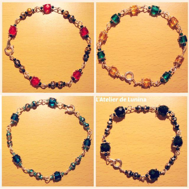 Bracelet en perle multicolore pearl bracelet