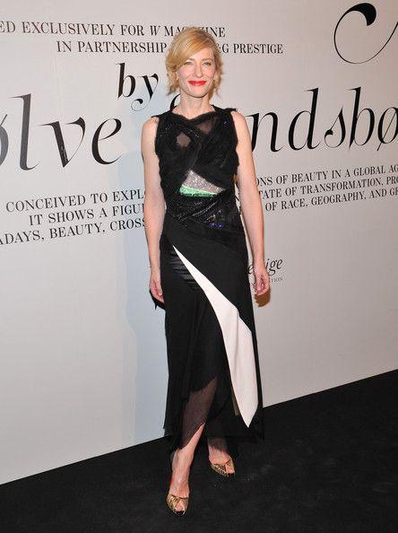 Cate blanchett black dress