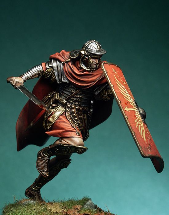 Roman Legionary, II century A.D. - 75mm Box Set - Ancient Rome