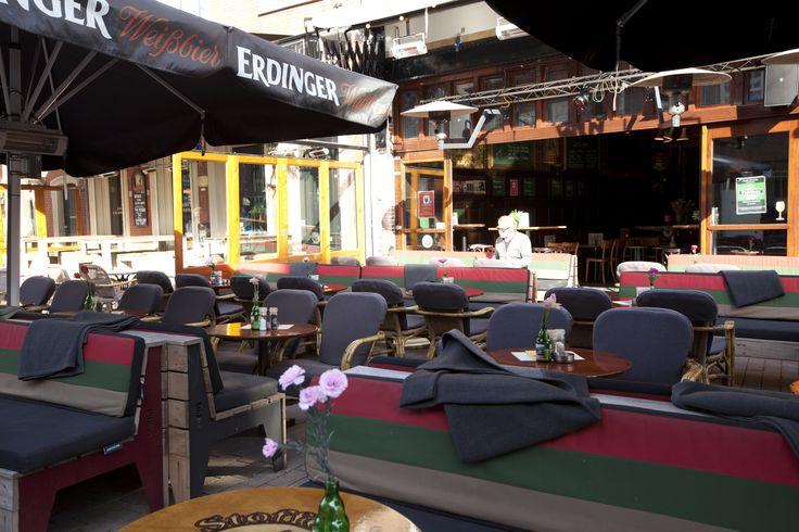 Cafe Stoffel, Tilburg, Big Pillows outdoor lounge