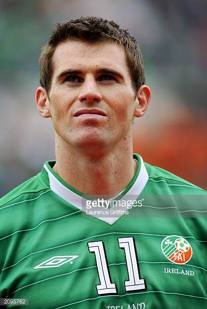 Portrait of Kevin Kilbane of the Republic of Ireland taken before the UEFA European Championships 2004 Group 10 Qualifying match between Republic of...