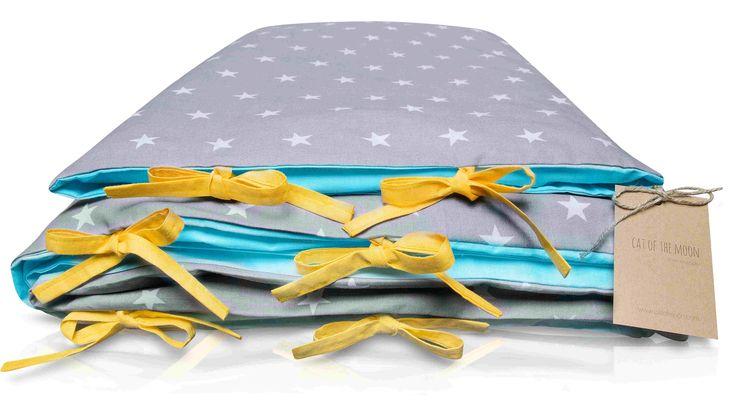 Radosny design do łóżeczka:) Pościel  rozweseli wnętrze pokoju dziecięcego i przyjemnie otuli każdego malucha by smacznie spał do rana.