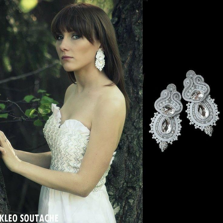 Sutasz Kleo /Soutache jewellery: SESJA JASMINE
