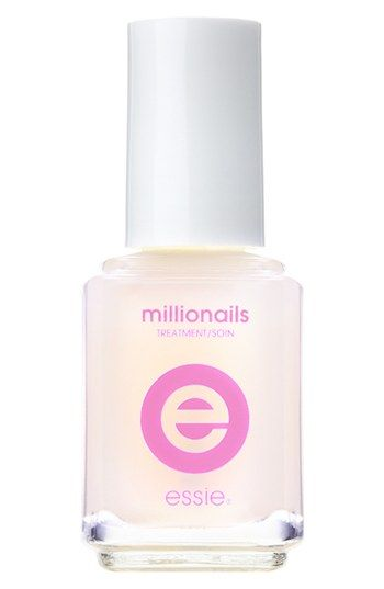 essie® Millionails™ Nail Treatment available at Nordstrom. My favorite base for my nails really prevents them from peeling.