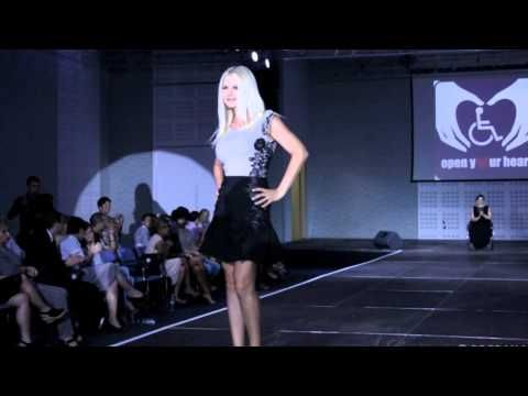 Fashion - Atipic Beauty2013 supported by Alin Galatescu , Bucharest . The Show.