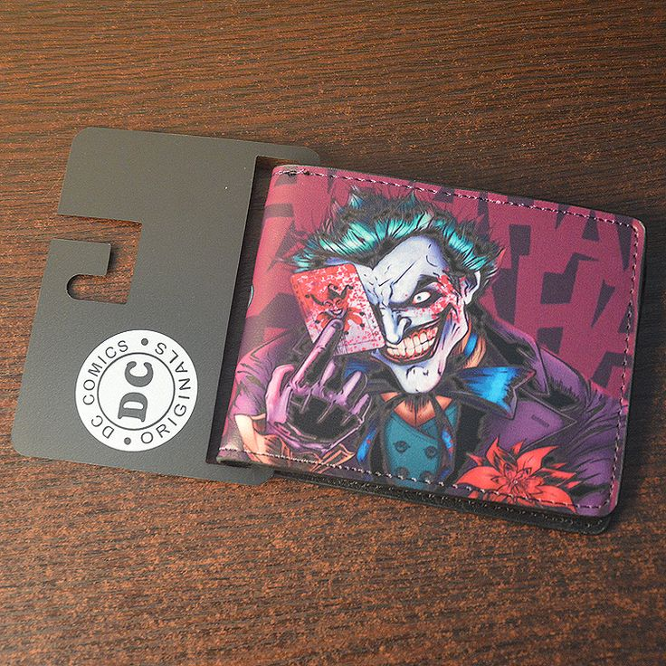 Suicide Squad Wallet & Card Holder Price: US $ 12.98 For more items please visit our store: http://dcworldshop.com