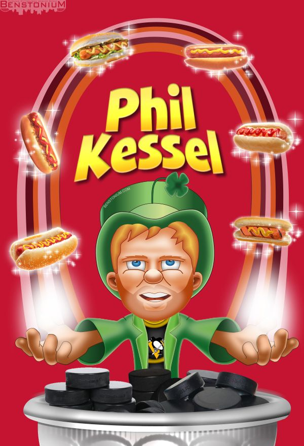 """They're after me Pot O' Goals!"" -Phil Kessel, magically delicious"