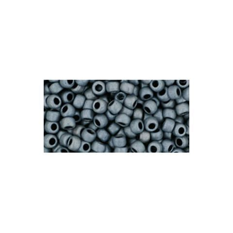 cc611 - perles de rocaille Toho 8/0 matt colour opaque grey (10g)