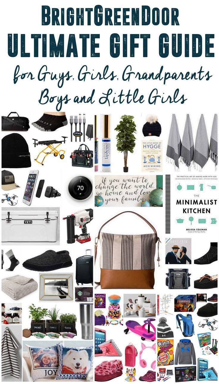 Ultimate Gift Guide Of Christmas Gift Ideas For Girls Guys Little Girls Boys Ultimate Gift Guide Creative Christmas Gifts Gift Guide