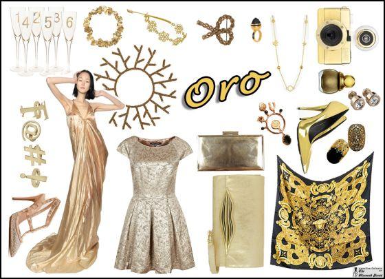 Le proposte regalo in oro nel mio Style Board