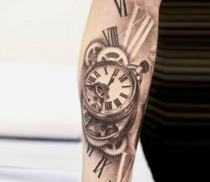 Lucas Moura Father: 20 Best Traditional Clock Tattoo For Men Images On