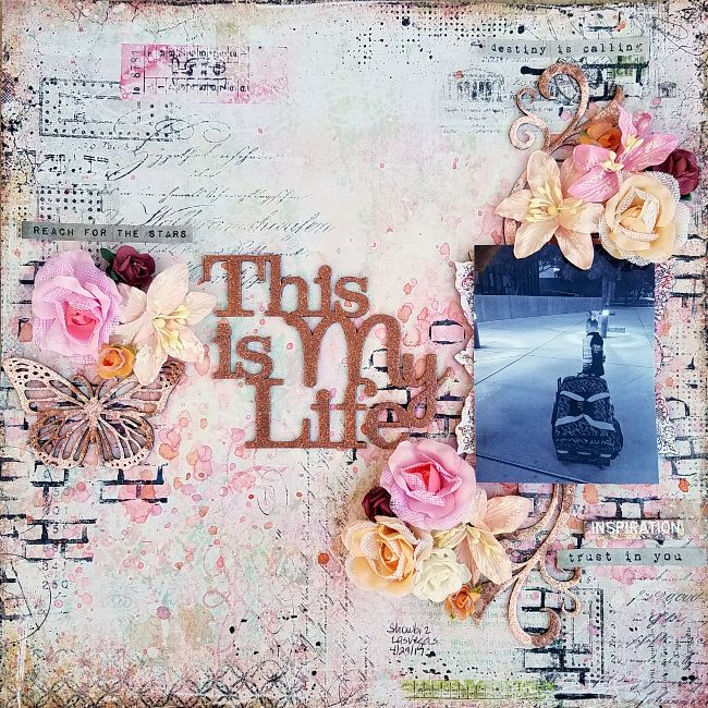 A Stash of Pretty Paper: Blue Fern Studios - This is My Life by Kris Berc