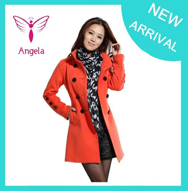 Wholesale  Retail Women's Trench Coat With Good Quality Plus Size XXL Long/Short Woolen Winter Jackets Free Shipping WO 010-in Wool  Blends from Apparel  Accessories on Aliexpress.com $29.79 - 31.70