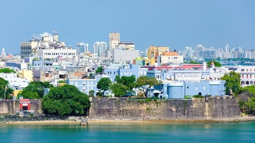 Colorful buildings in the Carribbean, here from the capitol of Puerto Rico, San Juan. #kilroy #backpacking #traveling #urban #city