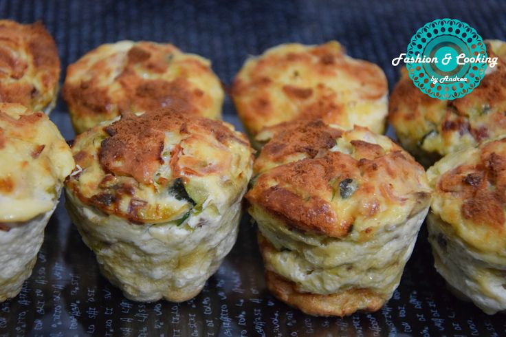 Muffins salados verduras jamon,cocina saludable,fitness,healthy snack