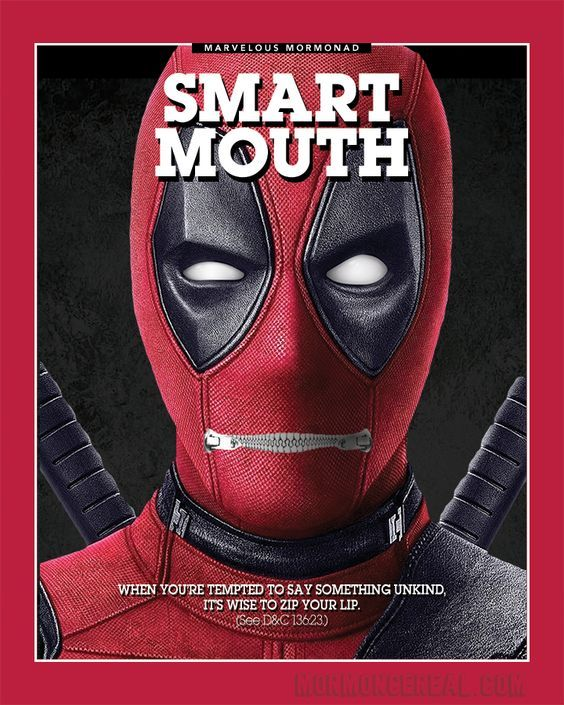 Some hilarious Mormon Ads and Mormon memes from the Marvel Universe. Deadpool. LOL