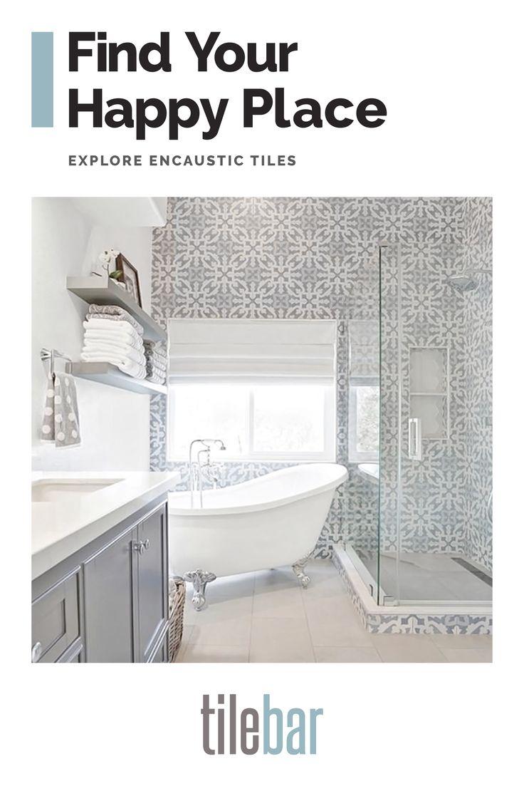 9x9 Room Design: Bella Moma 9x9 Porcelain Encaustic Tile In 2020