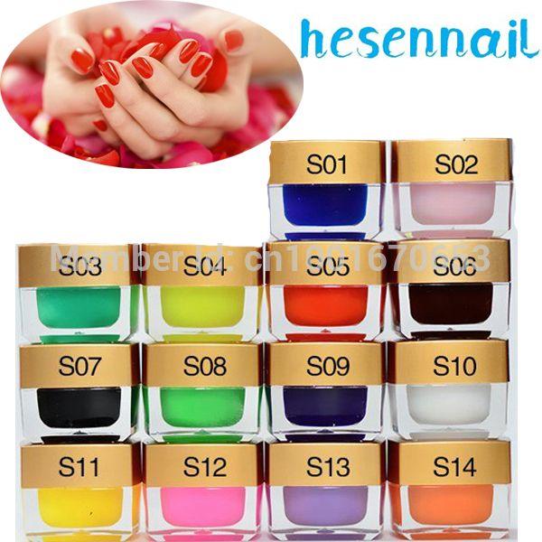 Уф гель 12 COLOR ногтей замочить , с гелем сплошной цвет гель цветные уф-гель лак для ногтей устанавливает строители и красочные советы по красоте