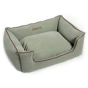 "Every princess needs a ""throne"" to rule from. Our personalized dog beds are super comfy and made of the highest quality materials."
