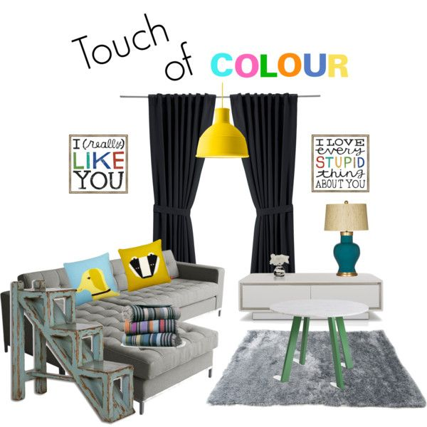 """""""Touch of Colour"""" by louiseenorris on Polyvore"""