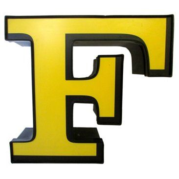 Check out this item at One Kings Lane! Marquee Letter F
